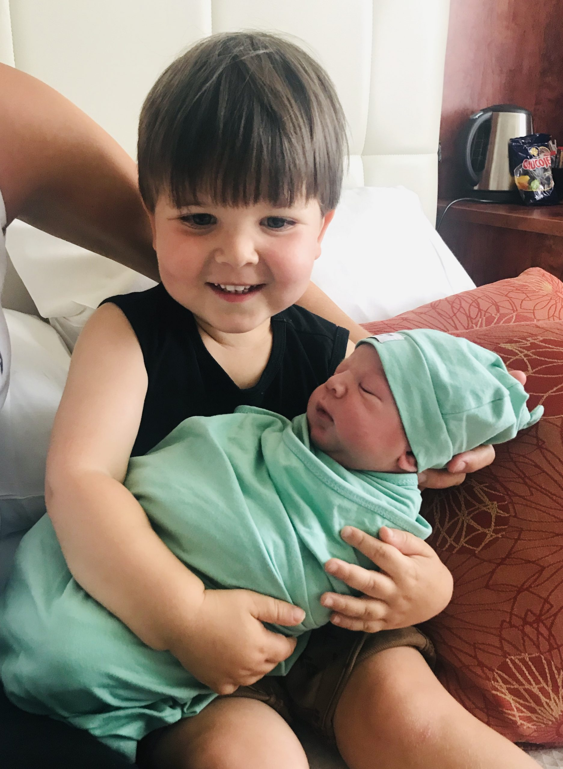 He's here and he's perfect! My labour story…